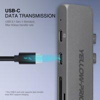 USB-C Digital 4K HDMI AV Multiport USB 3.0 Hub/Adapter [7-IN-2 Hub] For Macbook