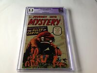 JOURNEY INTO MYSTERY 81 CGC 3.5 RULER OF EARTH STEVE DITKO KIRBY MARVEL COMICS