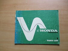 Parts List catalog - Teile Katalog Honda CB 550 F2 Werkstatthandbuch