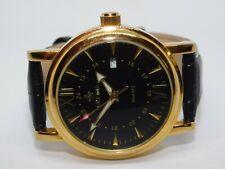 MG.Orkina Genuine Leather Quartz Analog Men's Watch