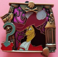 Disney DSSH villains Peter Pan stained glass Captain Hook pin LE 400