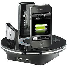 Callstel Universale USB-Multi-Ladestation 6x f. tausende mobile Geräte