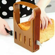 Bread Slicer Cutter Mold Maker Slicing Cutting Guide Tool Toast Loaf Y5Z2