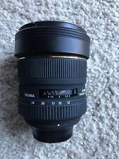 Sigma EX 12-24mm f/4.5-5.6 HSM DG EX ASP Lens For Nikon
