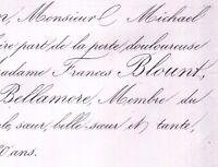 Frances Wright Edward Blount De Bellamore Londres 1859