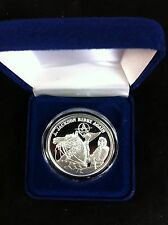 "1oz-1 TROY OUNCE.999 FINE SILVER PROOF ""JACKSON RIDEZ ""ZOMBIE COIN Like Zombucks"