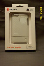 Griffin Elan Form case Graphite Hard Cover Micro Stand Apple iPod Touch 4th Gen