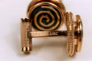 Montblanc Wire Swirls Manschettenknöpfe Cufflinks Edel-Stahl Rosé-Gold Neu