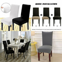 2/4/6X Stretch Dining Chair Covers Removable Slipcover Washable Banquet Event