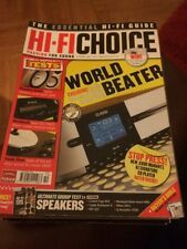 HI-FI Choice CD Amp Speakers Sub Music Cables Etc Issue No 284 September 2006