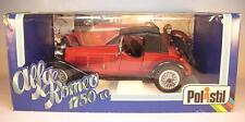 Polistil 1/16 Alfa Romeo 1750 rot in O-Box #1411