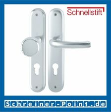 Hoppe Tokyo Aluminium F1 Alu Natur Langschild 53/273P/1710 WG WE Wechselgarnitur