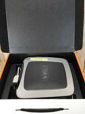 AT&T U-verse High Speed Internet Wi-Fi Modem-Router GATEWAY 3600HGV Silver Black
