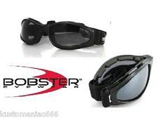 Occhiali moto Bobster Crossfire richiudibili x Harley Davidson Chopper Custom