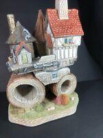 David Winter Cottage ~ The Steamroller ~ Signed Eccentrics Coll. Rare Mint NoCoa