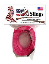 Rifle Sling Neon Pink - 2 Point Gun Sling