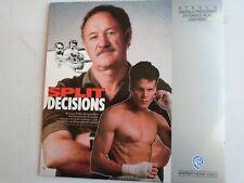 SPLIT DECISIONS LASERDISC NTSC Gene Hackman