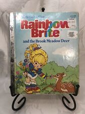 """Rainbow Brite and the Brook Meadow Deer A Little Golden Book 1984 """"A"""" Edition"""