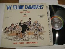 Rich Little with Les Lye/ My Fellow Canadians/ Capitol 6000/ 1963/ Canada