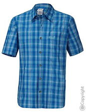 Jack Wolfskin Herren Freizeit Hemd  HOT CHILI MEN brilliant blue checks Gr.S