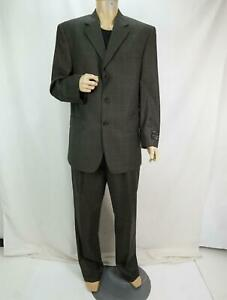 Jos. A. Bank Men's 2-PC Superfine Executive Collection Wool Suit Gray 42 NWT