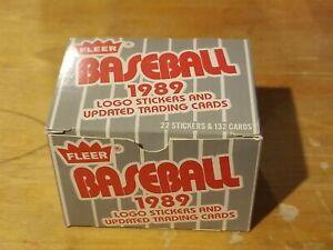 1989 Fleer Update Baseball Complete Set