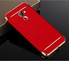 Cell Phone Case Protective for Lg G6 Bumper 3 in 1 Cover Chrome Shell Red