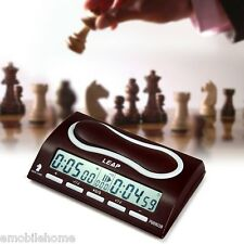 Professional Chess Clock I-go Count Up Down Timer for Game Competition