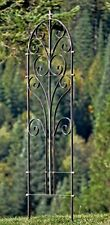 GAR214L H Potter Large Italian Iron Garden Trellis Metal Yard Art Outdoor Living