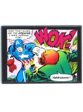 Captain America Versus Red Skull Refrigerator Magnet Marvel Comic Panel Art New