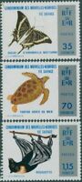 New Hebrides French 1974 SGF200-F202 Wild Life MLH