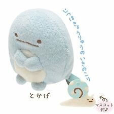 San-X Sumikko Gurashi Plush 2'' Blue Lizard w/ Mini Snail (MP86205)