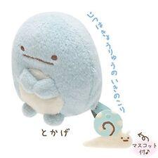 San-X Sumikko Gurashi Plush 2'' Blue Lizard w/ Mini Snail (MP86205)