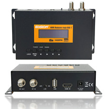NEU Edision HDMI Modulator single HDMI auf DVB-T USB MPEG4 FullHD HDTV schwarz