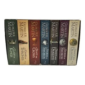 Game of Thrones A Song Of Ice & Fire - Complete Boxed Set 7 Books 2011 Edition