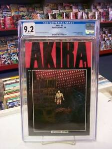 AKIRA #1 (Epic Comics, 1988) CGC Graded 9.2 ~ White Pages