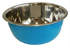 Bright Colored Stainless Steel mixing Bowls 1.8 L Dishwasher Safe Salad bowl