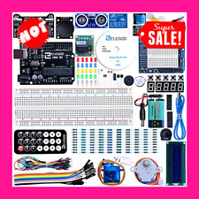 UNO Project Super Starter Kit with Tutorial and UNO R3 Compatible with Arduino