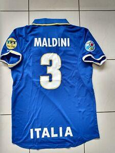 MALDINI ITALY EURO 1996 96 home jersey shirt  AC MILAN ITALIA SIZE XL EXTRA LARG