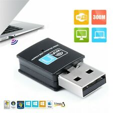 300Mbps Mini Wireless USB Wifi Adapter LAN Network Adapter 802.11n/g/b w/ CD bx