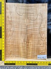 Tubular Quilt Flame Maple Bookmatched Set Guitar Making Luthier Wood Supply