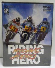 RIDING HERO  - SNK NEO GEO NEOGEO AES ROM RARE