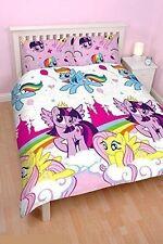 Lit Double My Little Pony Equestrian Set Housse De Couette Licorne Arc-en-ciel