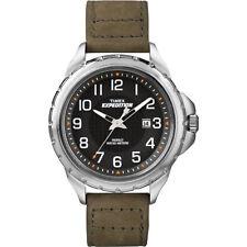 Orologio Timex T49945 expedition moda uomo tessuto marrone sportivo casual data