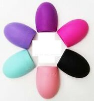 New Makeup Foundation Brush Cleaner Cosmetic Cleaning Silicone Egg Scruber Glove