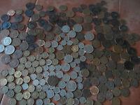 300 British coins lot huge massive haul over 300 coins