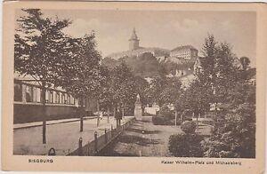 SIEGBURG - KAISER WILHELM PLATZ - MICHAELSBERG - GERMANY - POSTCARD