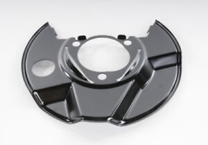 Brake Dust Shield Front Left ACDelco GM Original Equipment 25931625