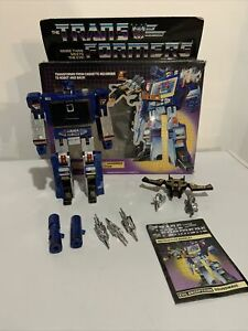 Transformers G1 SOUNDWAVE & BUZZSAW, complete with box