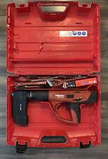 Hilti DX-460 Concrete Fastener Nailer Powder Actuated Gun and MX-72 w/ a Case